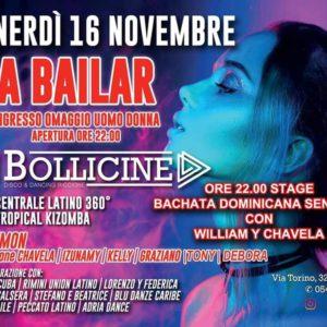 A Bailar Venerdì al Bollicine Riccione