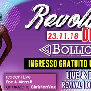 Il venerdì è Revolution al Bollicine Riccione