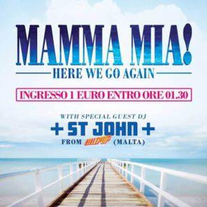 Mamma Mia 1 euro party al Classic Club