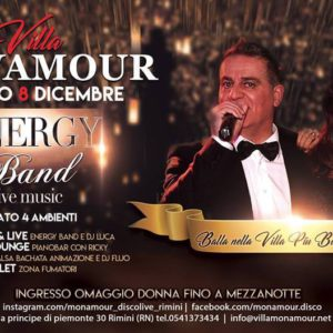 L'energy Band torna sul palco del Monamour Rimini
