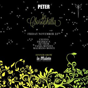 Arriva il nuovo venerdì Clorophilla al Peter Pan