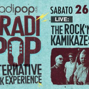 The Rock 'n Roll Kamikazes ospiti al Bradipop Rimini