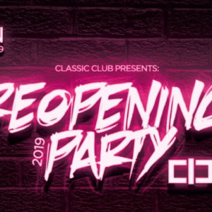 Reopening Classic Club 2019