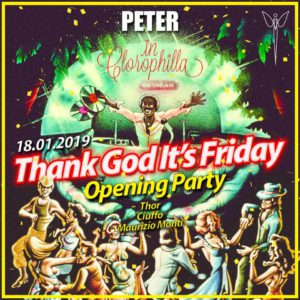 Peter Pan presenta: Thanks God it's Friday