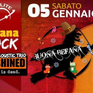 Befana Rock Party al Satellite Rimini con OutShined