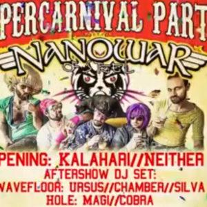 Super festa di Carnevale al Wave Club. Musica, Divertimento e Follia!!