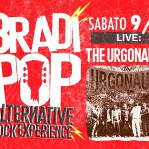 Sabato serata alternativo al Bradipop Rimini con i The Urgonauts