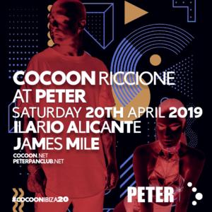 Pasqua 2019 al Peter Pan Riccione con il Cocoon e Ilario Alicante