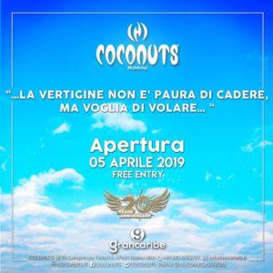 Il lungomare di Rimini si anima con il weekend targato Coconuts