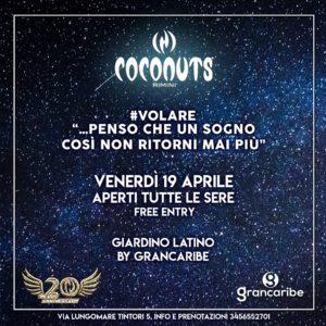 Venerdì di musica e divertimento al Coconuts Rimini