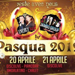 Super domenica di Pasqua al Monamour con i Jambo Group