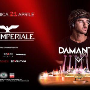 Pasqua Baia Imperiale 2019 con Andrea Damante