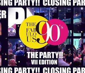 Hai nostalgia degli anni 90? Al Peter Pan Riccione si torna indietro nel tempo con The Fabulous 90's