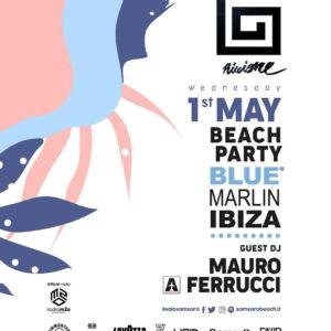 Il primo maggio al Samsara Rimini si balla al Beach Party