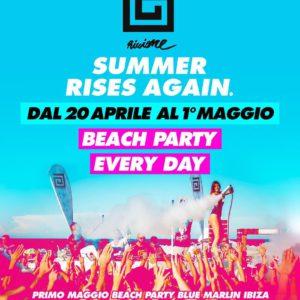 Nove giorni di Beach Party al Samsara Riccione. L'estate inizia così!