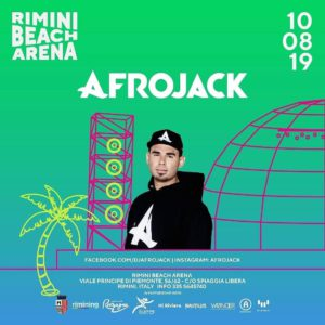 Robe dell'Altromondo! Afrojack e Achille Lauro sono i nuovi protagonisti del Rimini Beach Arena