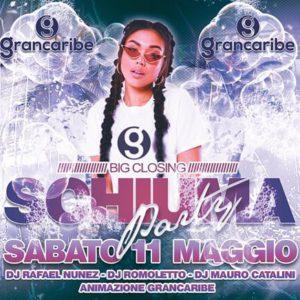 Grande festa di chiusura all'Altromondo Studios e Grancaribe con tanto di Schiuma Party!