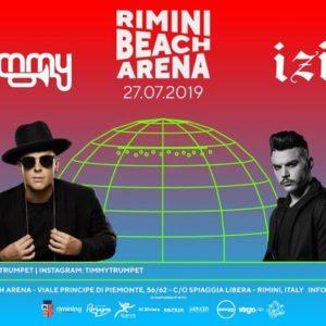 Timmy Trumpet e Izi ti aspettano al Rimini Beach Arena dell'Altromondo Studios