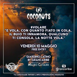 L'estate è già qui! Apre il giardino del Coconuts Rimini.