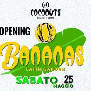Grande festa latina nel giardino del Coconuts Rimini