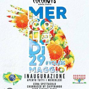 Arriva il mercoledì brasiliano. Appuntamento al Coconuts Rimini