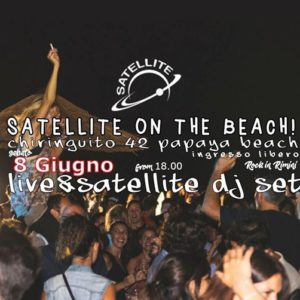 Satellite Rimini On The Beach. Tanta musica rock sulla spiaggia!