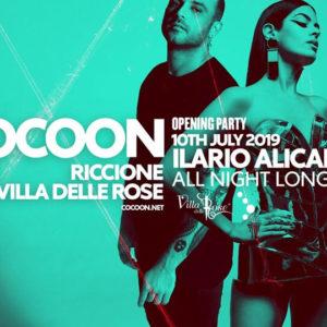 Cocoon Party. Tornano alla Villa delle Rose le serate Techno