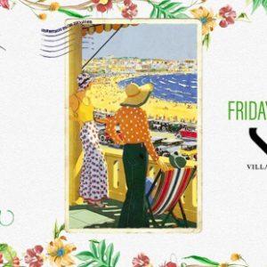 Torna il venerdì Clorophilla alla Villa delle Rose