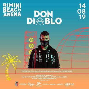 L'estate si scalda! Al Rimini Beach Arena arriva Don Diablo.