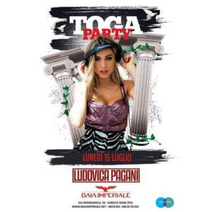 Ludovica Pagani riaccende il lunedì della Baia Imperiale.