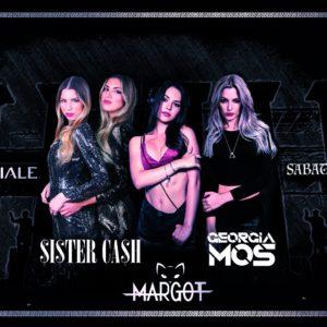 Sabato in Rosa alla Baia Imperiale con le Sister Cash, Georgia Mos e Margot.