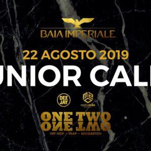 Il misterioso rapper Junior Cally anima il nuovo giovedì Urban della Baia Imperiale.
