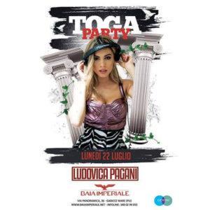 Sei pronto per ballare in Toga? Alla Baia Imperiale torna il Toga Party!