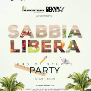 Beky Bay Bellaria presenta Sabbia Libera School Party