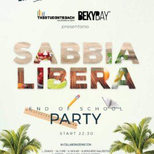 Beky Bay Bellaria presenta Sabbia Libera School Party