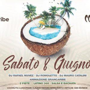 Sabato latino al Coconuts Rimini con in Grancaribe