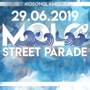 La Molo Street Parade 2019 sta arrivando. Tu sei pronto?