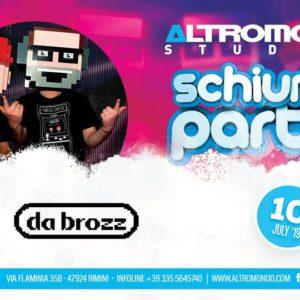 Schiuma Party all'Altromondo con i Da Brozz