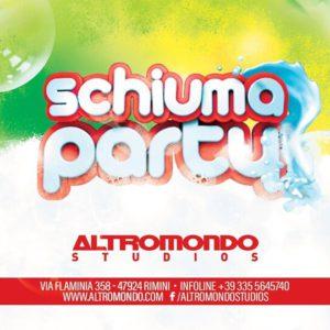 Mercoledì di follia all'Altromondo Studios. Torna lo Schiuma Party!