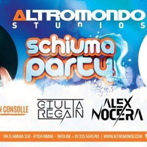 Domenica Schiuma Party all'Altromondo Studios con Alex Nocera
