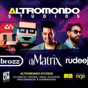 Rudeejay anima la serata all'Altromondo Studios