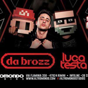 Arriva lo Schiuma Party all'Altromondo Studios con i da brozz e Luca Testa.