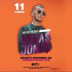 Il talentuoso Vega Jones è il protagonista del nuovo giovedì al Beky Bay.