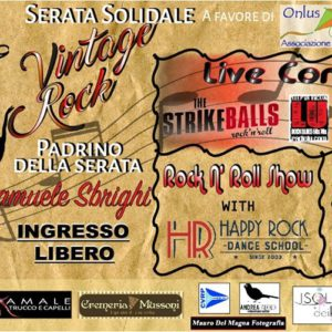Art4help beneficenza e vintage rock al Beky Bay.