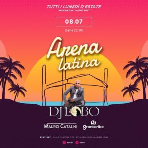Arena Latina si rinnova al Beky Bay con Dj Lobo