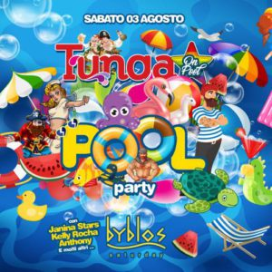 Tunga Pool Party al Byblos Riccione