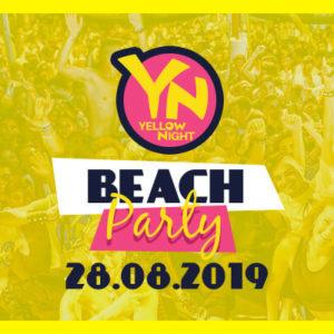 Yellow Night. Tutti in spiaggia con il beach party del Carnaby Rimini