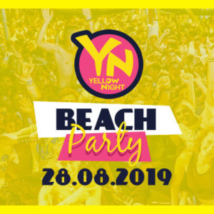 Yellow Night. Tutti in spiaggia con il beach party del Carnaby Rimini