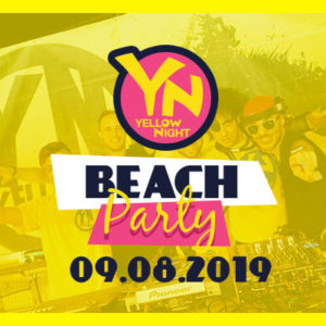 Si torna in spiaggia. Arriva Yellow Night del Carnaby Rimini