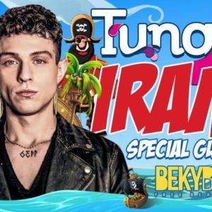 Irama e il TUNGA XXL ti aspettano al Beky Bay per un sabato esplosivo!